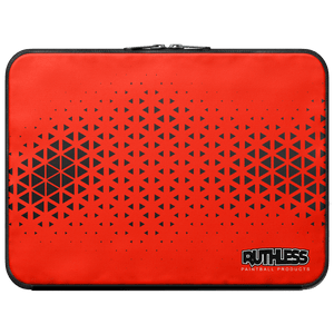 Red Triangle Laptop Sleeve - Ruthless Paintball Products