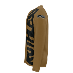 Vertical Ruthless Long Sleeve Brown