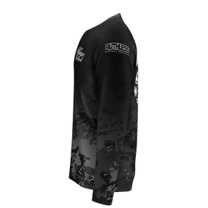Faded Gray Camo Long Sleeve