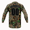 Woodland Camo Breeze Jersey - Ruthless Paintball Products