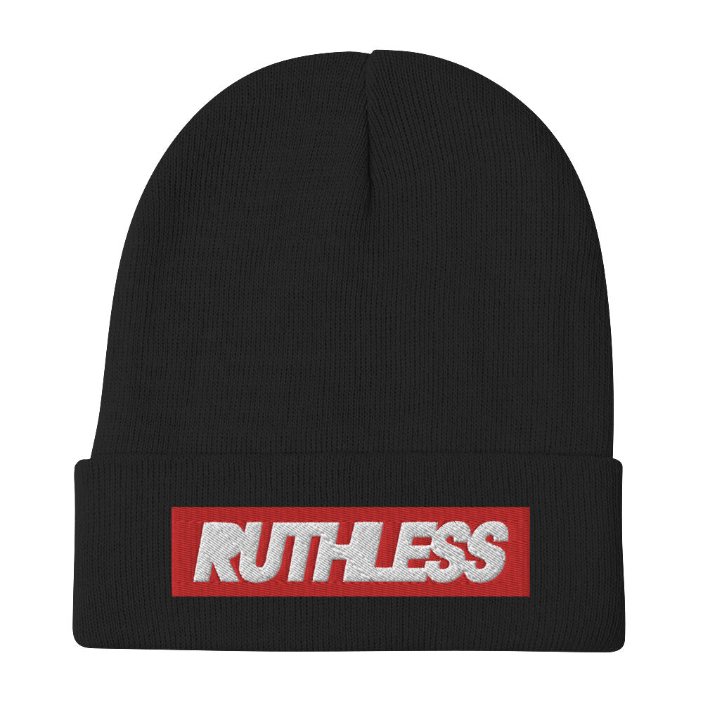Red Square Beanie