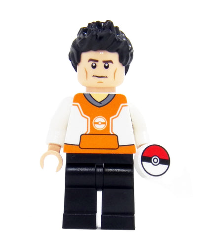 Monster Trainer (Orange) - miniBIGS Custom LEGO Minifigure