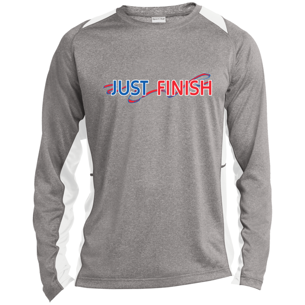 Just Finish Long Sleeve Tech T-Shirt