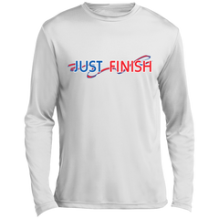 Just Finish Long Sleeve Performance T-Shirt