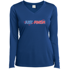 Ladies' Just Finish Long Sleeve Performance T-Shirt