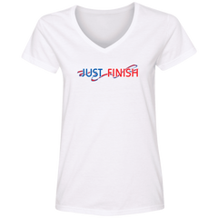 Ladies' Classic Just Finish V-Neck T-Shirt