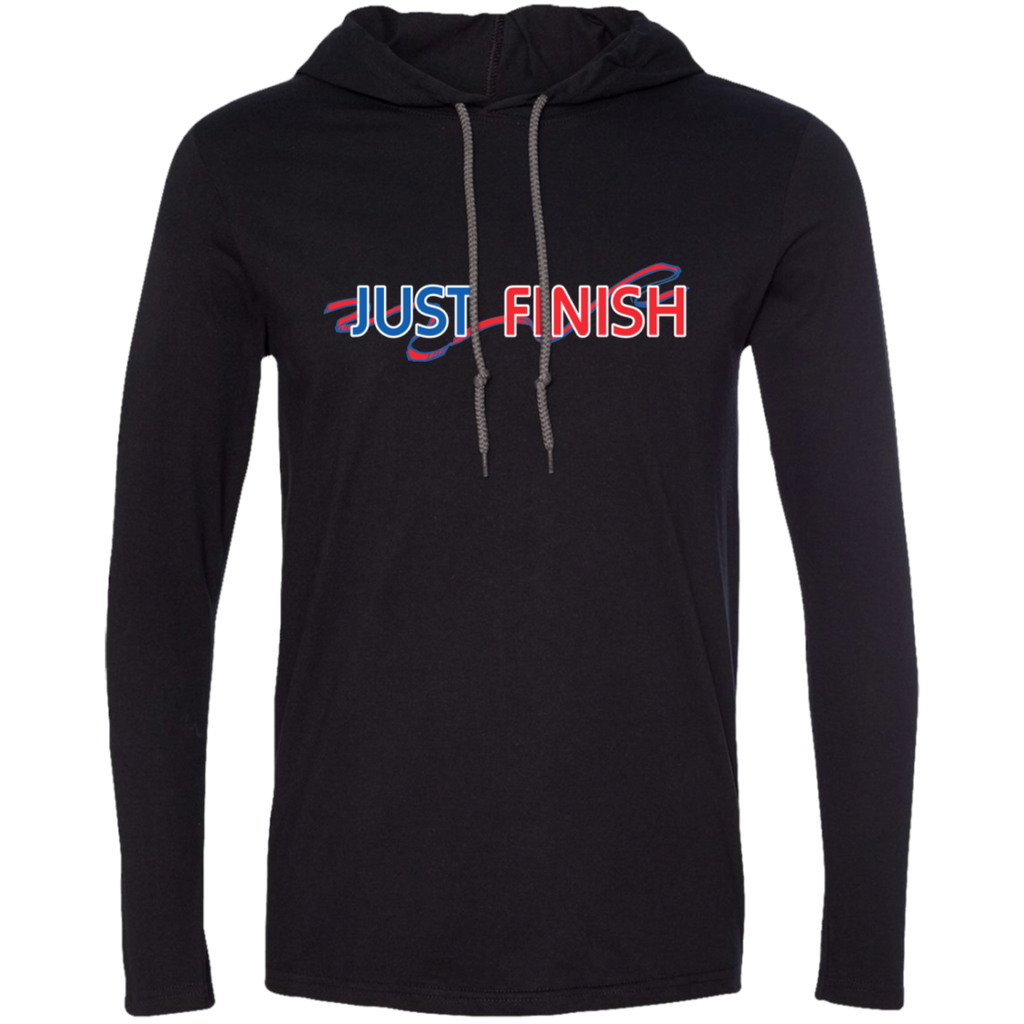 Just Finish Long Sleeve T-Shirt Hoodie