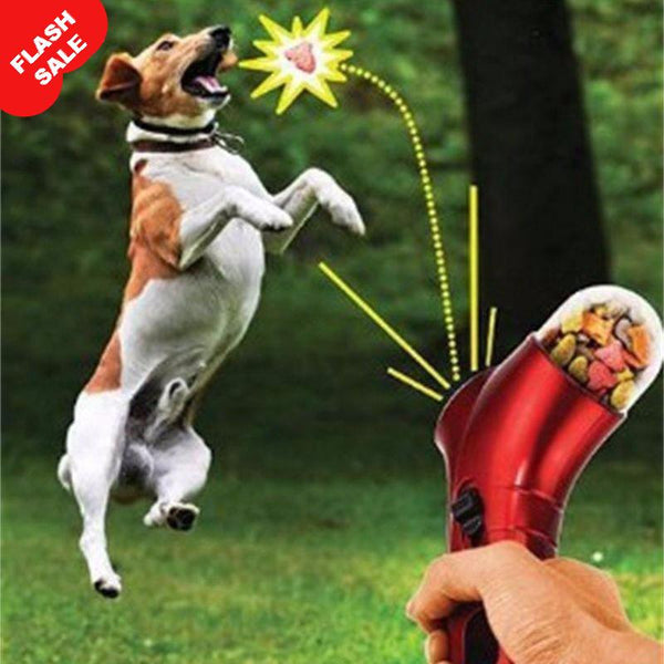 Pet Treat Launcher Catapult Interactive Toy