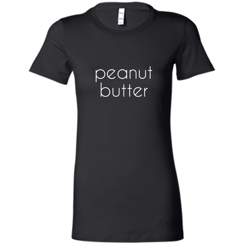 Bestie Best Friend Peanut Butter T-Shirt