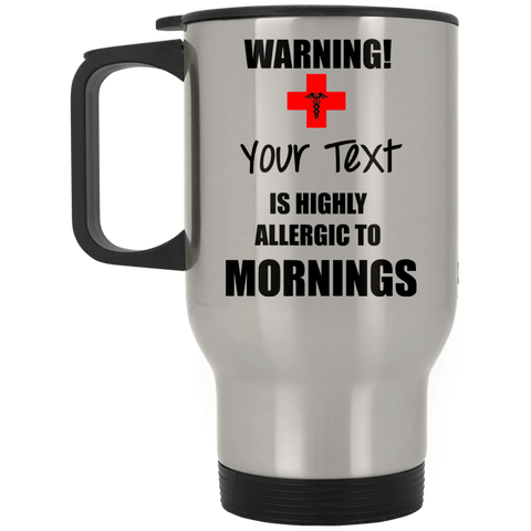 Morning Allergy Stainless Travel Mug