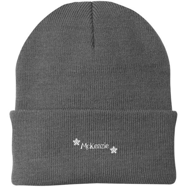 Personalized Knit Winter Beanie