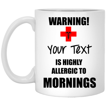 Morning Allergy Mug