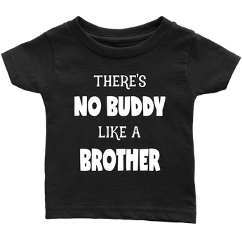 Big brother shirt, brother gift, little brother shirt, no buddy like a brother, brother shirt, toddler boy shirt, big brother tee, gender reveal shirt, gender reveal idea