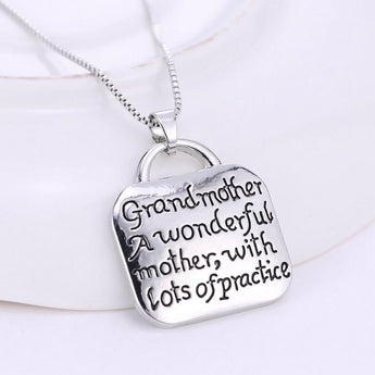 Best Grandmother Takes Practice Pendant Sale