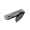 "Civilware's Clipper Folding Knife in Black (PVD). Popular 3"" clip point blade makes for a reliable everyday carry."