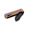 Civilware's Striker Folding Knife in bronze - a minimalist knife, great as an everyday carry.