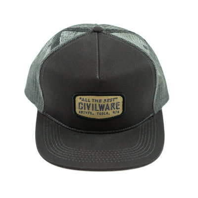 MFG. Hat - Gunmetal