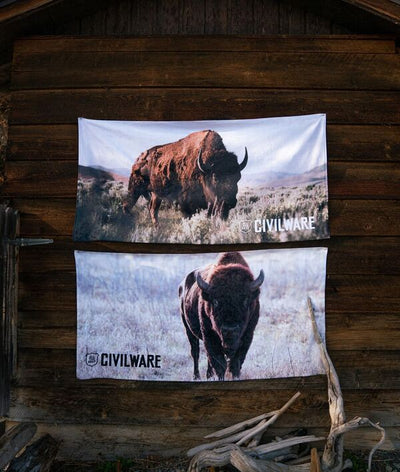 Bison Towel - 1 or 2 Pk.