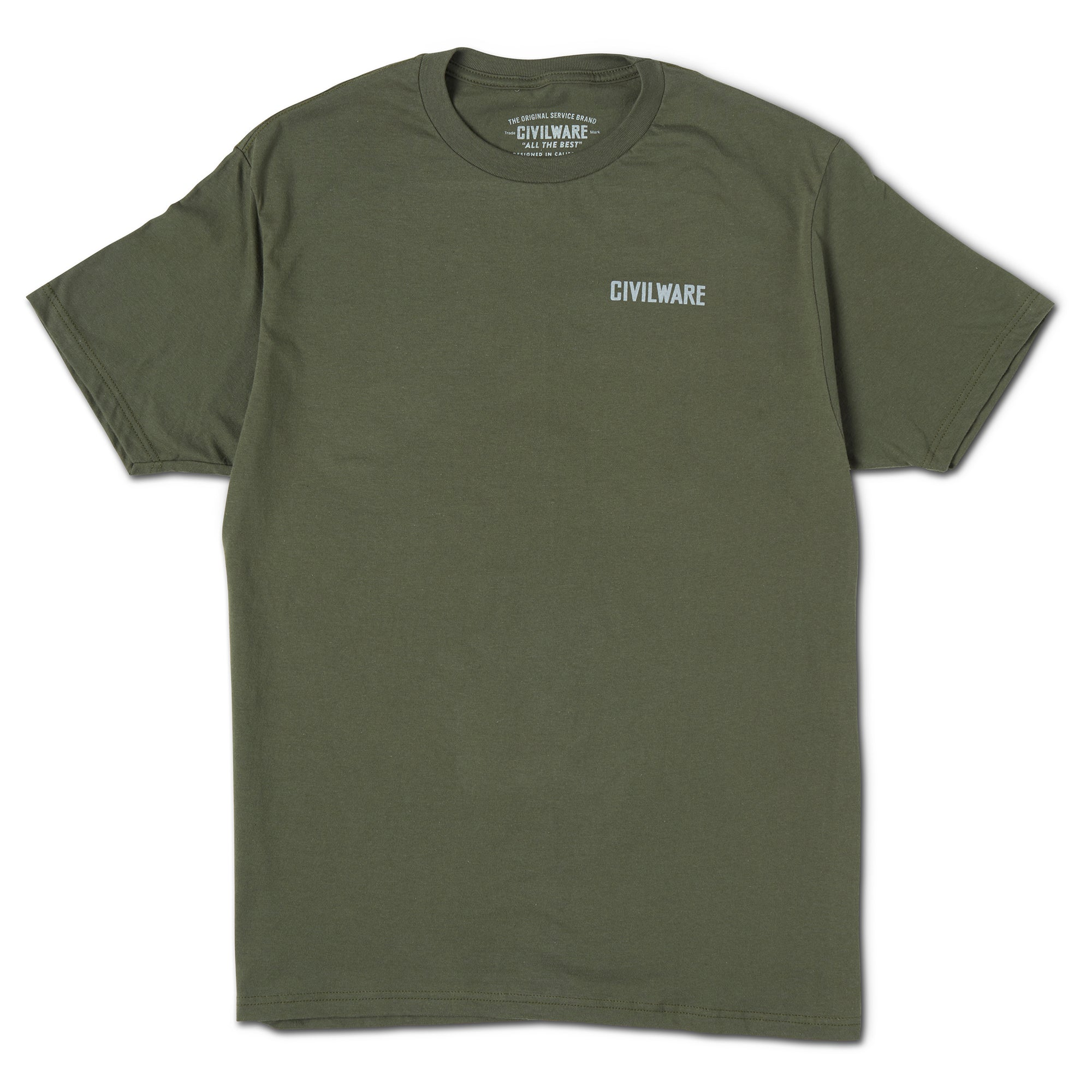 Tule Elk Tee - Surplus Green