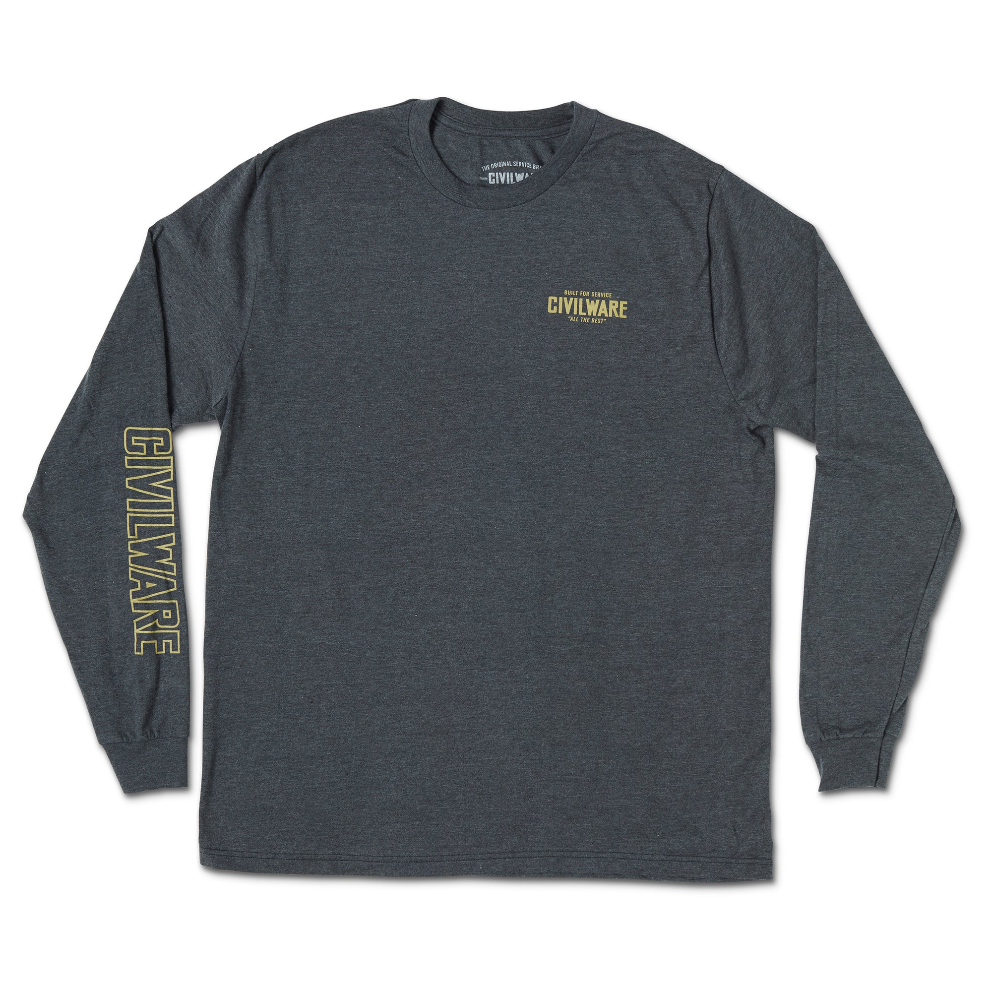 Bighorn L/S Tee - Charcoal Heather