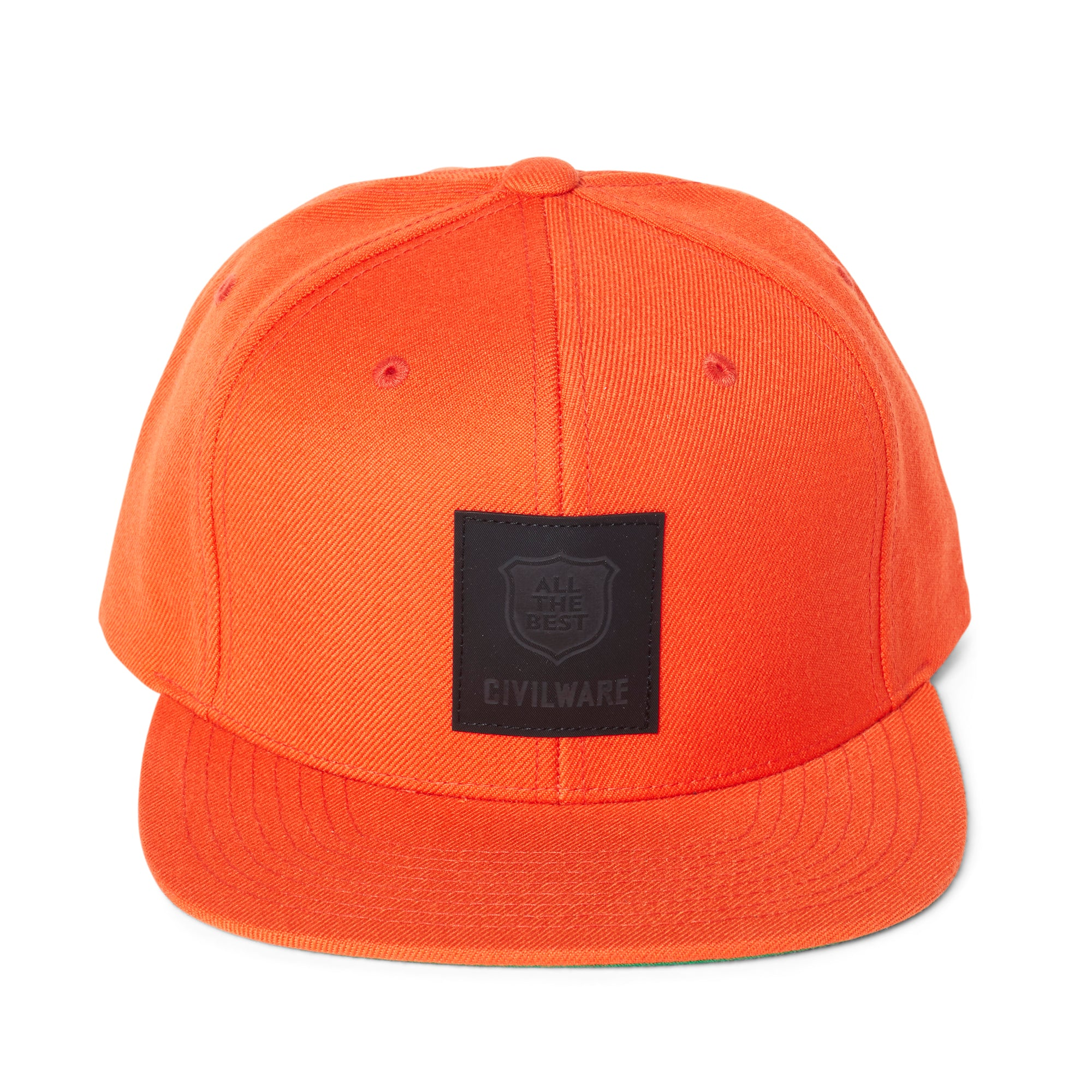 SERVICE HAT - ORANGE/BLACK