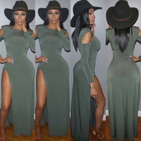 Leg$ For Days Maxi - Expensive Taste Boutique - 1