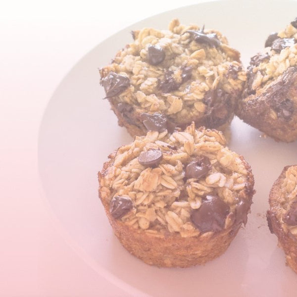 Energize Your Day! Try This Oatmeal Banana Chocolate Muffin Recipe | With Love Darling