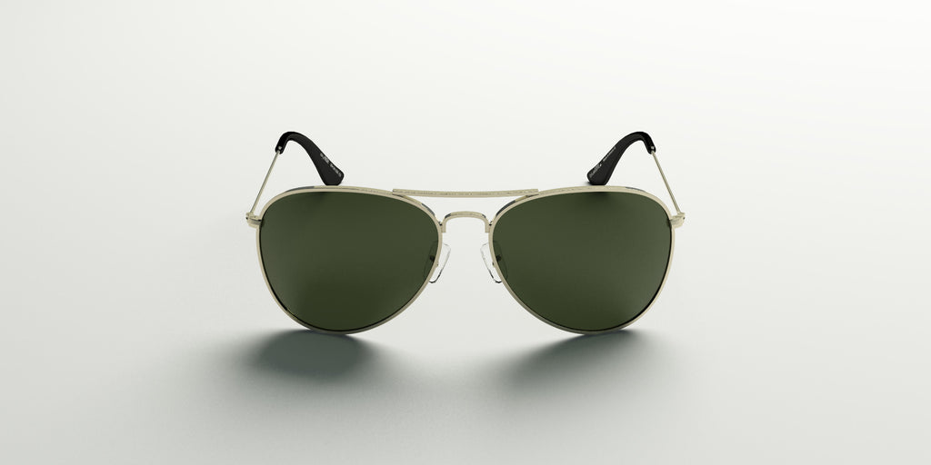 skyHIGH / Miramar Gold with Military Green Lens