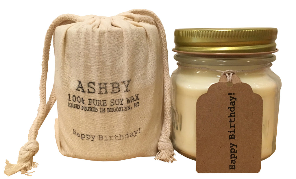 Ashby Candle - Happy Birthday!