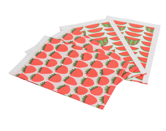 Strawberries Gift Wrap