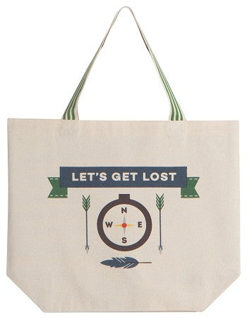 Let's Get Lost Tote
