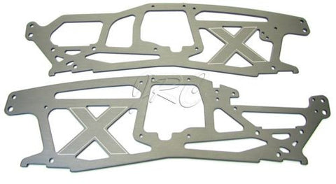 SAVAGE X SS CHASSIS (main side plates 2.5mm 21 TVP 73961 73962 F4.6 861 HPI