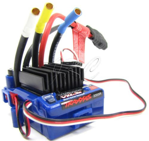 Stampede 4x4 VXL-3s ESC w/ NEW Connector Waterproof 3355r Slash Traxxas 67086-3