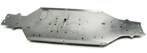 TROPHY Truggy CHASSIS plate 6061 gunmetal (HPI flux 107018