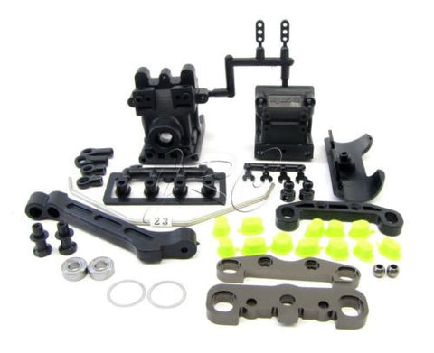 Kyosho Inferno MP9 TKI3 FRONT SUSPENSION IF439C (sway braces) TKI2 KYO31788B
