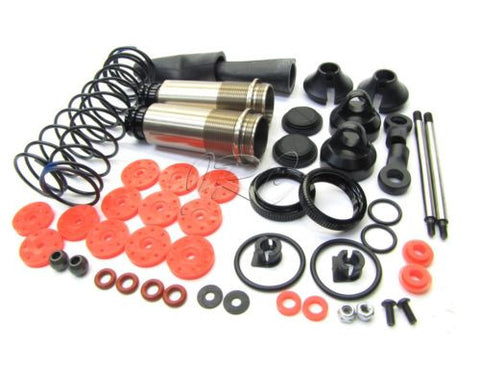 Hot Bodies D817 - REAR SHOCKS (dampers springs assembly v2 d815 HBS204124 Buggy