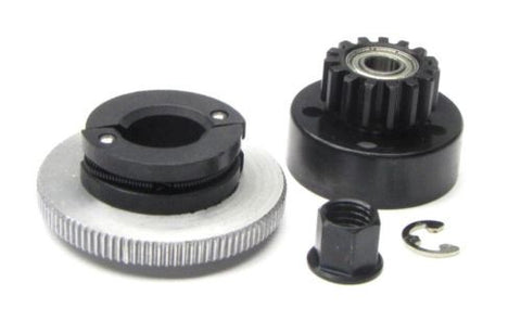 Slayer PRO 4x4 CLUTCH & GEAR 15t , Flywheel nut 5244 Traxxas 59074