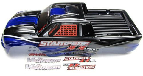 Stampede 4x4 VXL BODY Shell (DARK BLUE) Traxxas #67086-3