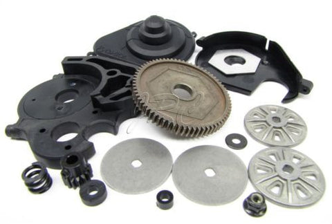 1/8 Yeti XL SPUR gear, motor mount & Dual Slipper Clutch (68t 32p Axial AX90032
