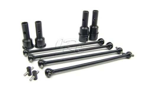 8ight Buggy Front/Rear Dogbone & axle set Gas CVD driveshafts Team Losi LOS04000