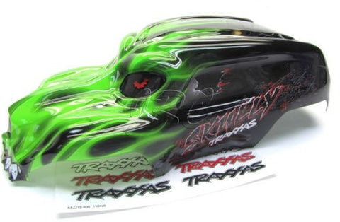 Skully GREEN BODY cover Shell (1/10 scale craniac Traxxas Monster Jam 36064-1
