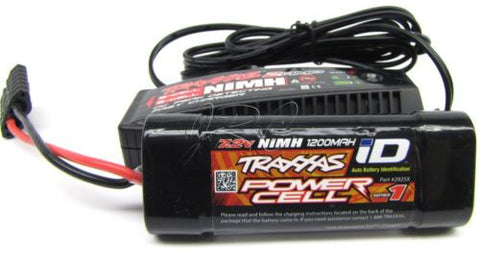 1/16 Summit BATTERY & iD Peak 2 amp CHARGER E-revo Rally NEW 2925X Traxxas 72076