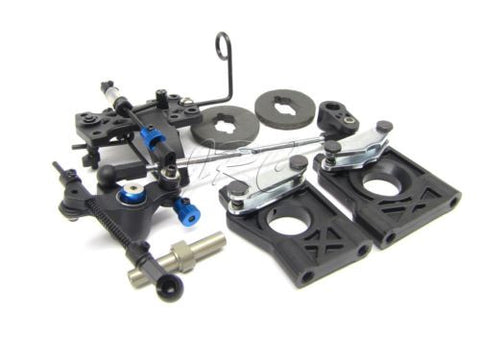 8ight Buggy Brake Set (center diff mount Linkage throttle Gas Team Losi LOS04000