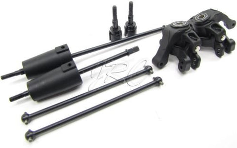 Axial YETI - AXLES & KNUCKLES (front rear driveshafts dogbones adapters AXI90026