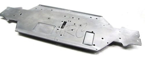 TROPHY Buggy CHASSIS plate 6061 gunmetal 101670 (HPI flux 107016