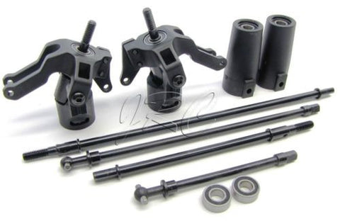 Axial Wraith AXLES & KNUCKLES (driveshafts #AX30419; AX80062; AX30368) (AXI90018)