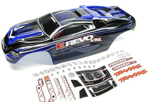 1/16 E-revo BODY, DARK BLUE BLACK (Shell , Traxxas #71076-3