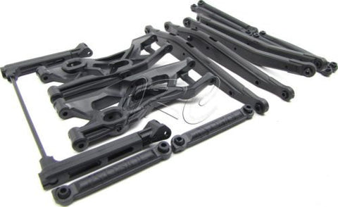 Axial YETI - LINK, Rod & Front ARM SET (AX31058 AX80111) AXI90026