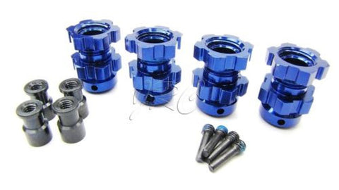 XO-1 HEXES (#6469) Blue-Anodized, retainer Traxxas 64077-3