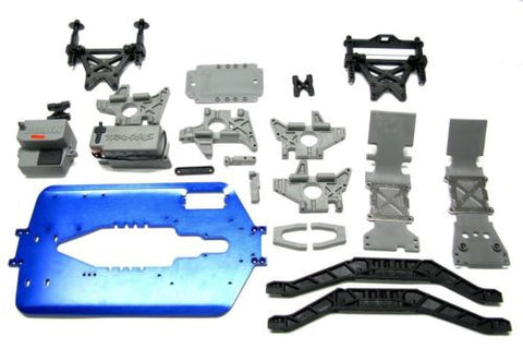 T-Maxx 3.3 CHASSIS 5122X 5197R (length upgrade, bulkhead, Towers, 4907 Traxxas